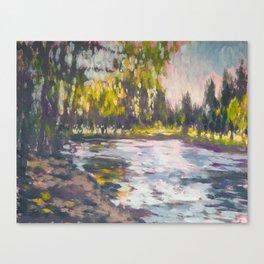 Crystal Springs Rhododendron Garden, spring Canvas Print