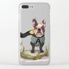 Ace Clear iPhone Case