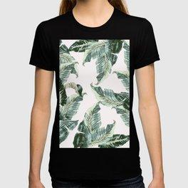Tropical Banana Leaves T-shirt