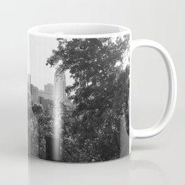 Minneapolis Minnesota Black and White Photography Coffee Mug