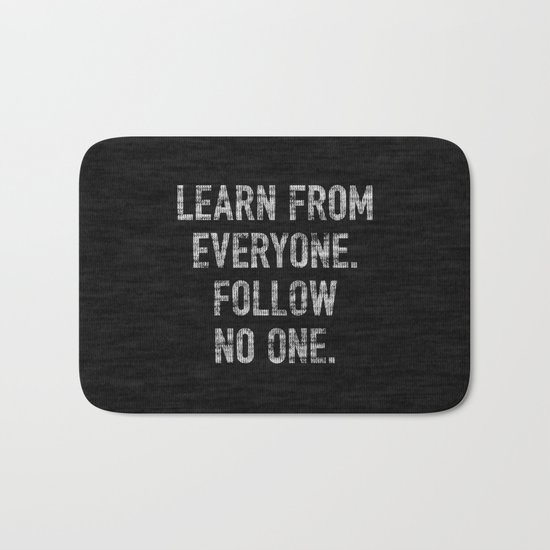 Learn from Everyone Bath Mat