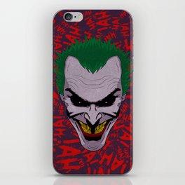The Joker iPhone Skin