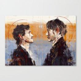 Senza denti Canvas Print