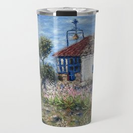 Chapel of Apostle Andrew in Aegina Greece Travel Mug