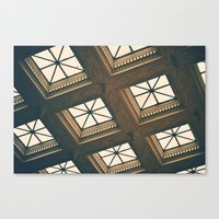 ornate Canvas Prints featuring Ornate by Denise Pike