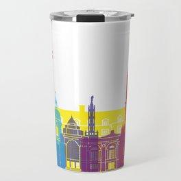 Amiens skyline pop Travel Mug