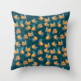 Goldfishs Throw Pillow