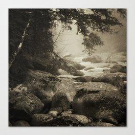 Mountain Brook Canvas Print