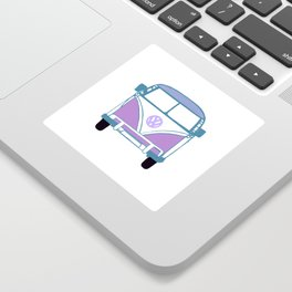 Retro Van Sticker