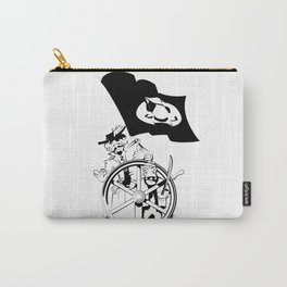 Cap'n at the helm Carry-All Pouch