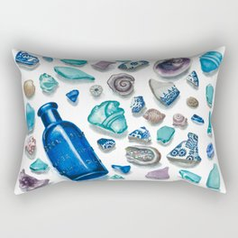 Bits From The Sea Rectangular Pillow