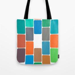 Colored Blocks Tote Bag