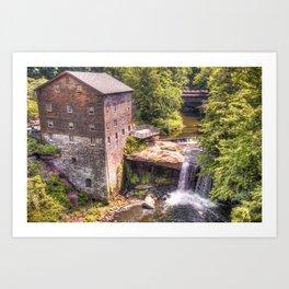Youngstown Ohio Lanterman's Mill Art Print