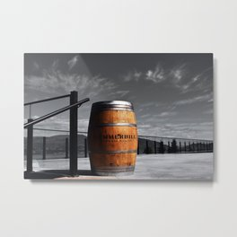 Shot in a Barrel Metal Print