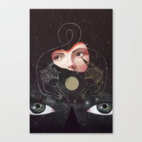 sister Canvas Prints featuring Sister by Julia Sonmi Heglund