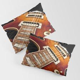 Sunburst Electric Guitar Pillow Sham