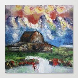 Swiss Landscape Canvas Print