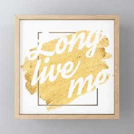 Love Yourself Framed Mini Art Print