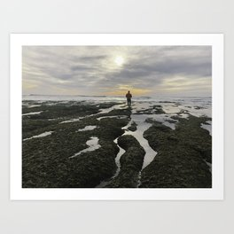 San Elijo Low Tidejo Art Print