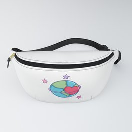 Loving my Planet Earth Day Fanny Pack