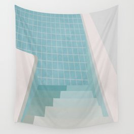 Swimming Pool Summer Wall Tapestry