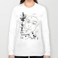 hunter s thompson Long Sleeve T-shirts featuring Hunter S Thompson by Nicostman