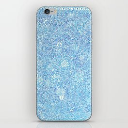 Blue Ornate iPhone Skin