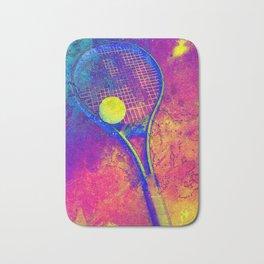 Tennis art Bath Mat
