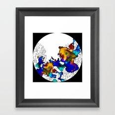 Pasta Illustration Framed Art Print