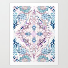 Wonderland in Winter Art Print
