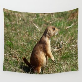Black-tailed Prairie Dog Pose Wall Tapestry