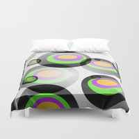 psychedelic Duvet Covers featuring Psychedelic by Vivian Fortunato
