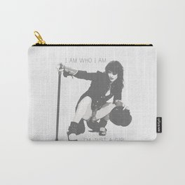 I am who I am - I'm just a girl Carry-All Pouch