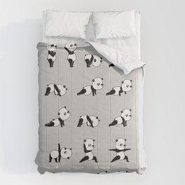 Yoga Bear - Panda Comforters