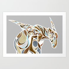 elands (color) Art Print