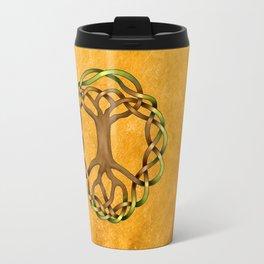 World Tree (Yggdrasil) Knot Travel Mug