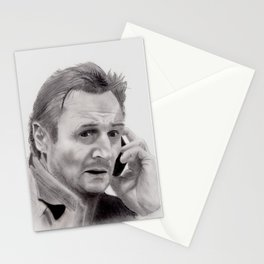 Liam Neeson Stationery Cards