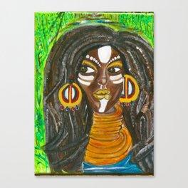 Tribal Soultress Canvas Print