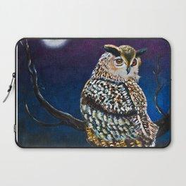 Owl Coat - Ugla Skyrta Laptop Sleeve