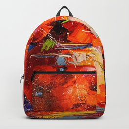 Bouquet of poppies Backpack