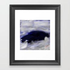Alfa Romeo 75 - Deep Fog Framed Art Print