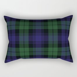 BLACK WATCH TARTAN Rectangular Pillow