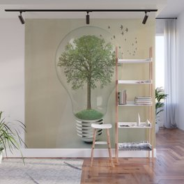 green ideas Wall Mural
