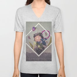 Bloom II Unisex V-Neck