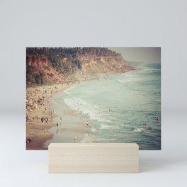 Varkala Beach Mini Art Print