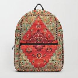 N114 - Vintage Old Antique Oriental Moroccan Artwork. Backpack