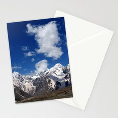 Snow Topped Mountains in the Spiti Valley Stationery Cards