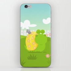 Green Snail (male) iPhone Skin