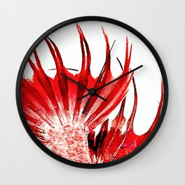 Mermaids Tail 4 Wall Clock