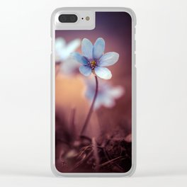 Liverworts Clear iPhone Case